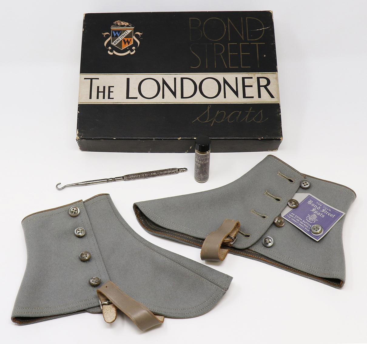 A Custom Box for Bond Street Spats