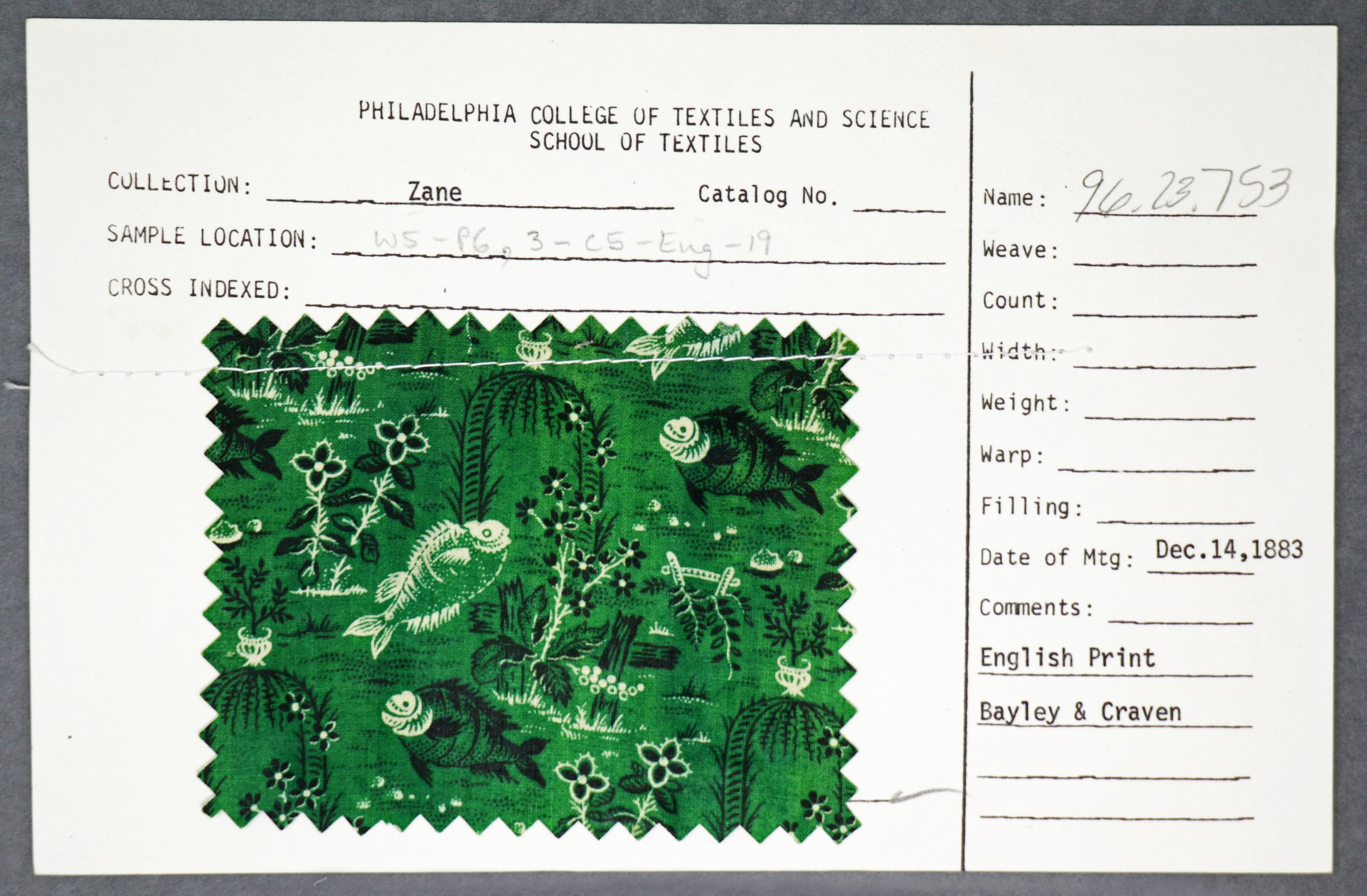 Your Source for Historic Textile Swatches : Tapestry