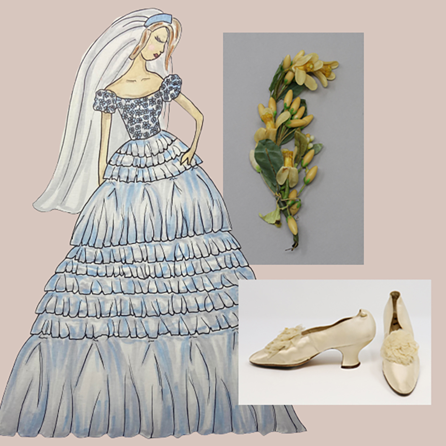 Student Project: A 1902 Wedding, by Carly Vlachos