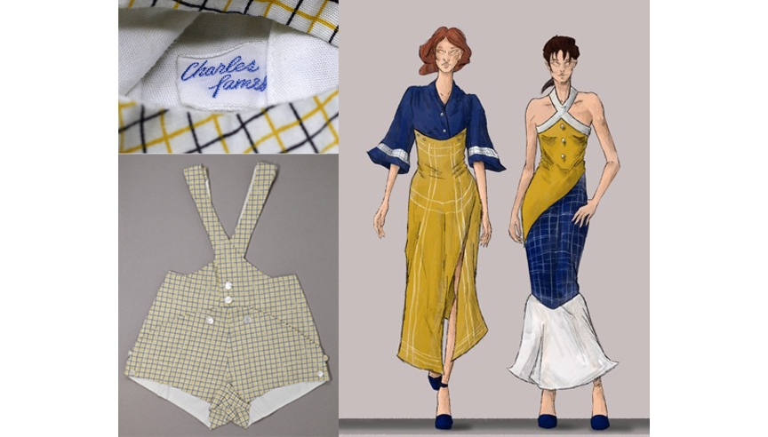 Student Project: a child's jumper designed by Charles James, analysis by Terrance Bridges