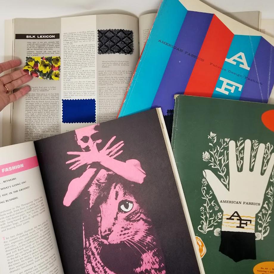 American Fabrics magazine